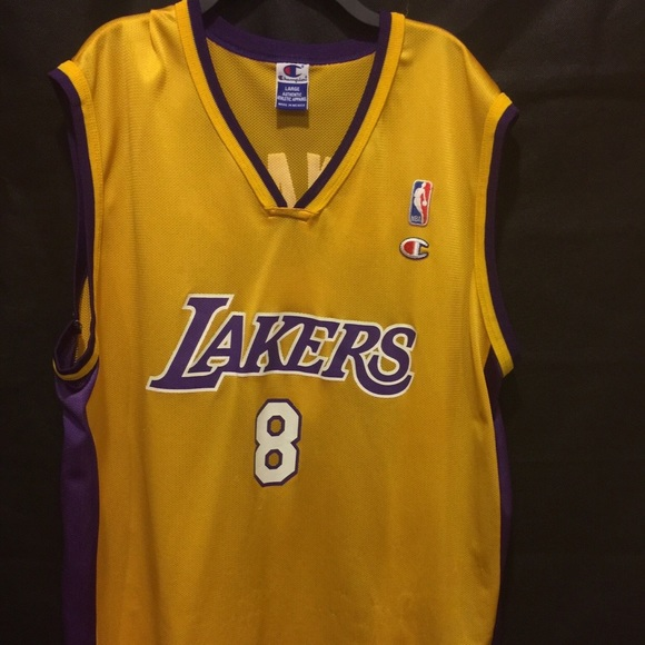 new style 47c27 6bfd5 NBA LOS ANGELES LAKERS CHAMPION KOBE BRYANT JERSEY
